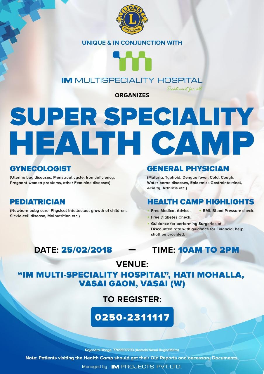 womans health camp 2018